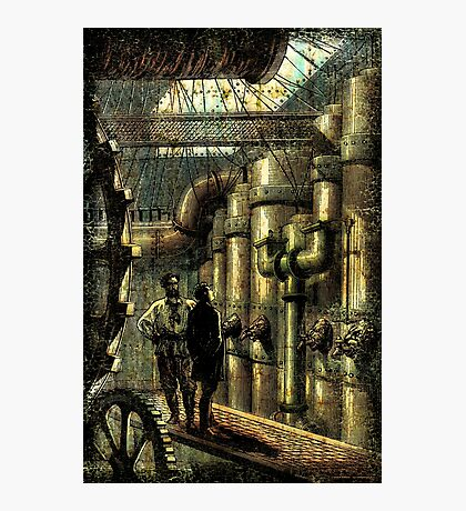 Nautilus Engine Room - by Landron Artifacts Photographic Print