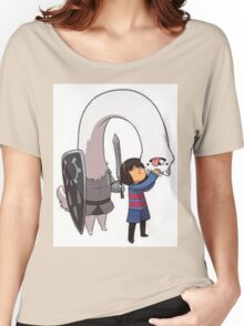 Undertale dog Women's Relaxed Fit T-Shirt