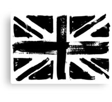 UK painted flag Canvas Print