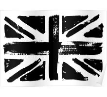 UK painted flag Poster