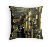 Nautilus Engine Room - by Landron Artifacts Throw Pillow