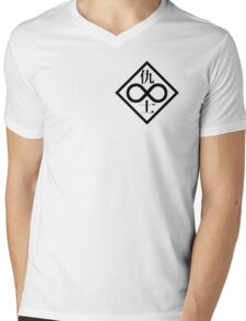 Ghost in the Shell - Individual Eleven (Black Logo) Mens V-Neck T-Shirt
