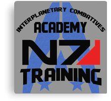 Interplanetary Combatives Academy N7 Canvas Print