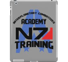 Interplanetary Combatives Academy N7 iPad Case/Skin