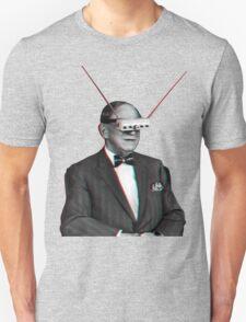 Old Man Tv Glasses (3D vintage effect) T-Shirt
