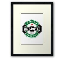 Tie Kampfer Imperial Beer Framed Print