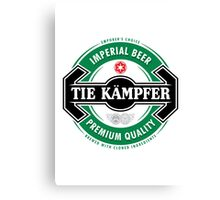 Tie Kampfer Imperial Beer Canvas Print