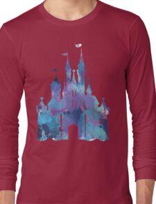 Splatter Paint Castle Long Sleeve T-Shirt