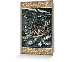The Mariner - by Landron Artifacts Greeting Card