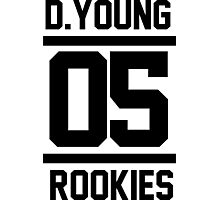 D.YOUNG 05 ROOKIES Photographic Print