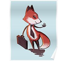 Business Fox Poster