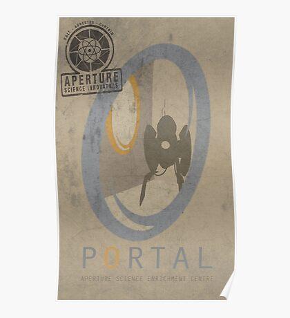 Portal Game Poster Poster