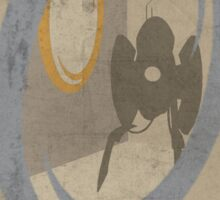 Portal Game Poster Sticker