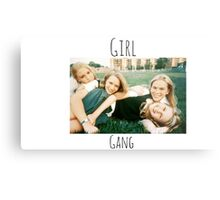 Start Your Own Girl Gang Series-The Virgin Suicides Metal Print