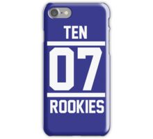 TEN 07 iPhone Case/Skin