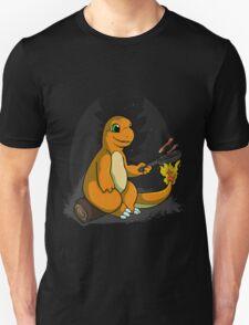 Camping with Charmander T-Shirt