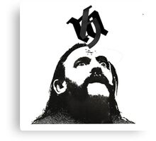 Lemmy Is Alive Canvas Print