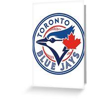 Toronto Blue Jays-Baseball Greeting Card