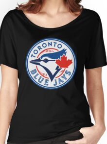 Toronto Blue Jays-Baseball Women's Relaxed Fit T-Shirt