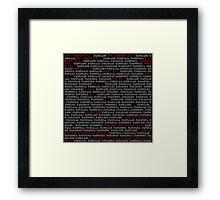 Love.Conquers.All - Digital Artwork Framed Print