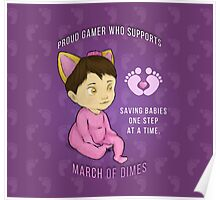 March of Dimes Baby Koshka Poster