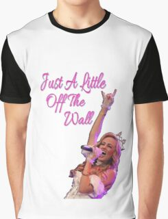 New JUST A LITTLE OFF THE WALL Graphic T-Shirt