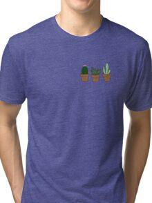 Cute cacti Tri-blend T-Shirt