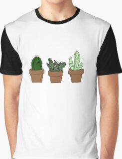 Cute cacti Graphic T-Shirt