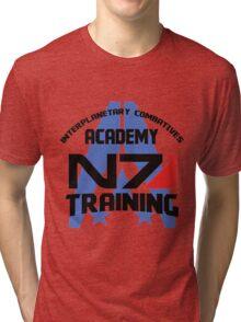 Interplanetary Combatives Academy N7 Tri-blend T-Shirt