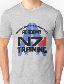 Interplanetary Combatives Academy N7 Unisex T-Shirt