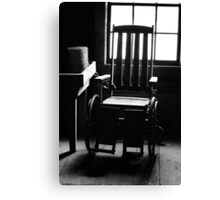 This Old Chair Canvas Print