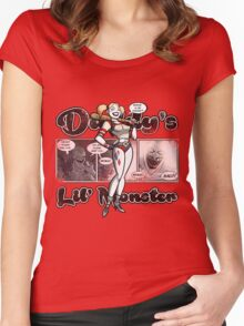Lil' Monster Women's Fitted Scoop T-Shirt
