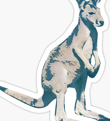 Kangaroo - Jump Sticker