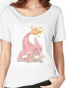 Chameleon Watercolour Women's Relaxed Fit T-Shirt