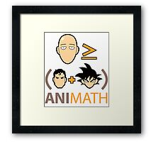 AniMath Framed Print