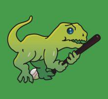 Baseball Dino VRS2 Baby Tee