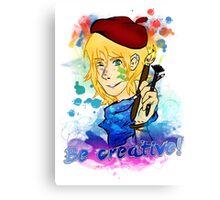 Be creative! Canvas Print