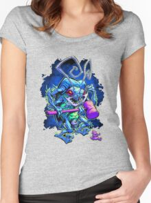 insect cartoon Women's Fitted Scoop T-Shirt