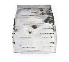 Birch Tree Bark  Mini Skirt