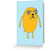 Evil Jake Greeting Card