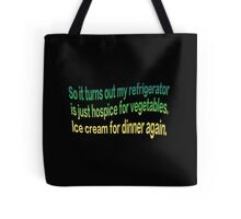 Hospice Vegetables Tote Bag
