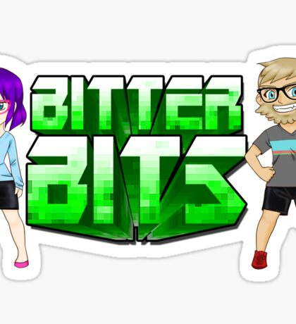 Bitter Bits Duo Sticker