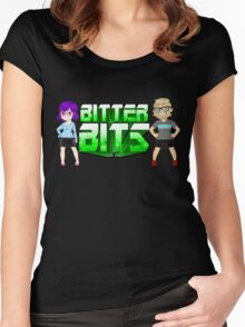 Bitter Bits Duo Women's Fitted Scoop T-Shirt