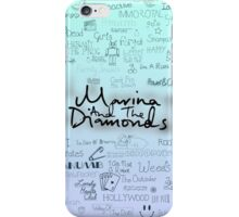 Marina and the Diamonds Original Drawing iPhone Case/Skin