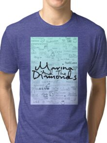 Marina and the Diamonds Original Drawing Tri-blend T-Shirt