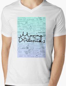 Marina and the Diamonds Original Drawing Mens V-Neck T-Shirt