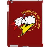 Washington Red Clouds iPad Case/Skin