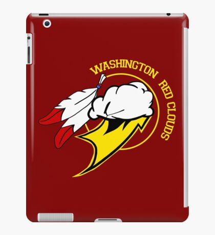 Washington Red Clouds iPad Case/Skin
