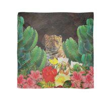 Gorgeous Tiger Floral Cactus Surrounding  Scarf