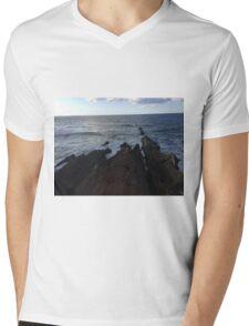 Montana De Oro Mens V-Neck T-Shirt